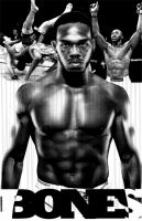 Jon Bones Jones by ShomanArt