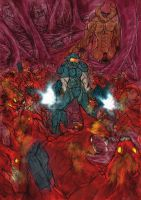 DOOM bring on the dammned by Vamore