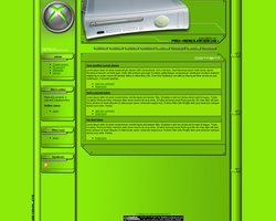 XBOX 360 Template for Drupal by ToaTs