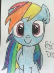 Rainbow dash!!! :P by Gr8-K8