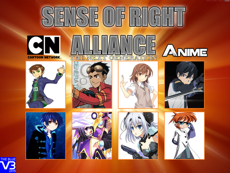 Sense of Right Alliance: The Next Generation by snitchpogi12