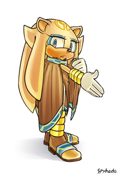 Oh no, they've got a new Sonic character by Spyhedg
