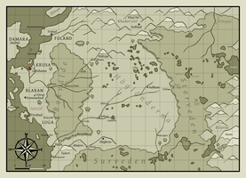 Map of the Highlands by Jedni