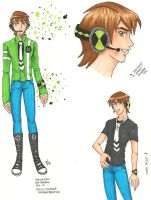 BEN10 - Ben - Vocaloid 1 by pan2dapan