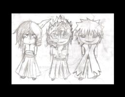 .:Bleach Arrancar Chibi:. by kurocherub