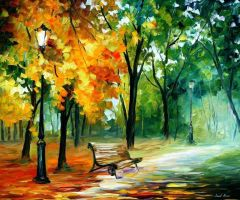Imaginings by Leonid Afremov by Leonidafremov