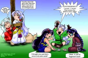 Sesshomaru Poker by Colanah