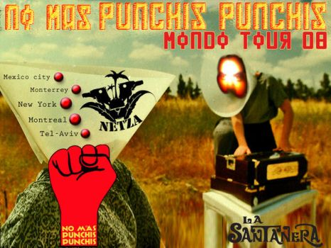 flyer 7-Tour No mas Punchis by exporadica