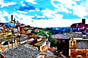 Siena View by carsonations