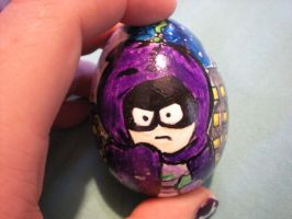 Mysterion Egg Head by bloodsuckingcupcake