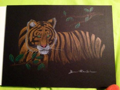 Mother's Day6- tiger by OPENINGART