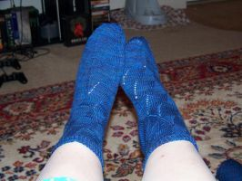 Sunday Swing Socks by ifihadacoconut