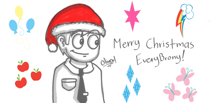 Merry Christmas by Dis-Apple