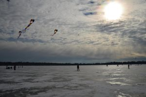 Kites on a Cold Day by Dreyco