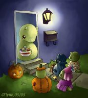 Trick or Treating Snoots by Snootsville