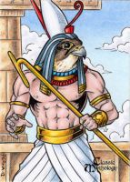 Horus - Classic Mythology by tonyperna