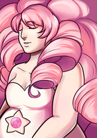 Pink Curls by jellophish