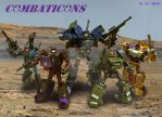 Combaticons Fully Armed by DriftsEdge
