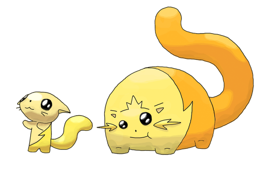 Cat Fakemon by Smiley-Fakemon