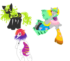 Adoptable Ponies [OPEN] by Mashi-Adopts