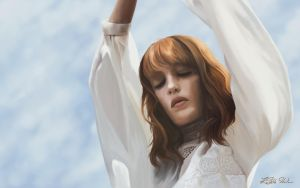 Florence Welch - What The Water Gave Me by Vrivs
