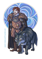 Young Wolf by naomi-makes-art73