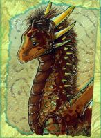 ACEO: Lady Shareaza by Suane