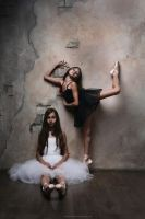 Black and white ballet 3 by DominaWhite