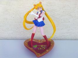 Sailor Moon S Posing by MutoSizuka