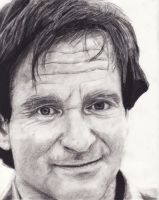 Robin Williams by DarkCalamity
