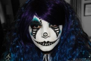 Whitby Goth Clown by FinstereFrau