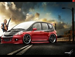 Honda Fit by wegabond