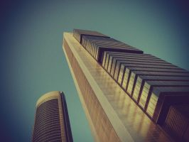 Torre CajaMadrid - Norman Fost by mystery-man