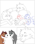 Comic Page.1 WIP 2 by Guardian-paws