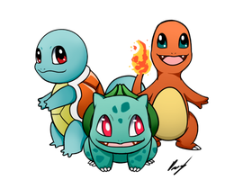 Starters first generation by FlaaffyShop