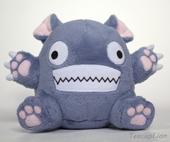 Original Plush - Bitey Creature by TeacupLion