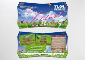 easter flyer by homeaffairs