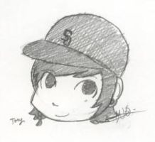 Tony Perry Chibi by MarshmallowPancake