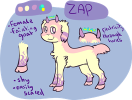 Commission: zap reference by Bienoo