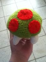 Metroid Amigurumi by Yueni