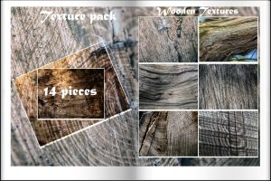Wooden Textures. 14 pieces by Chari-ot
