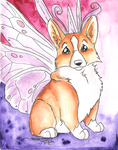 Fairy Corgi by Ashwin24