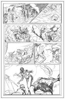 Grim Myths and Legnds #11 Page16 Pencils by CAGutierrez