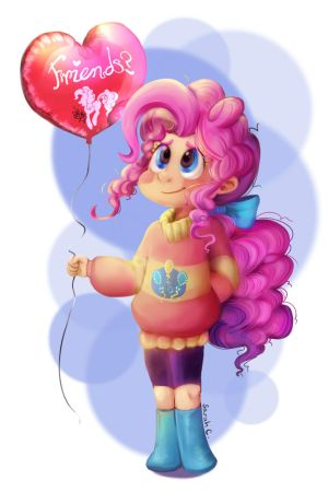 Pink friend by Daughter-of-Fantasy