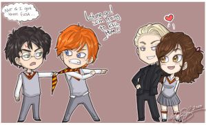 HP Doodle Colored by Mandy-Mo