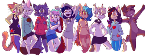 =Let's go join the furry march= by Buttercup1220