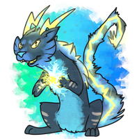 Electric Feel [AUCTION - OPEN] by Chocodopts