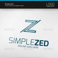 Simple Zed Logo by artnook