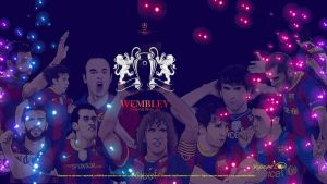 FC BARCELONA Champions League by akyanyme
