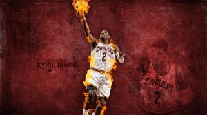 Kyrie Irving by RGray525